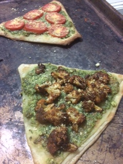 Cilantro Pesto Flatbreads